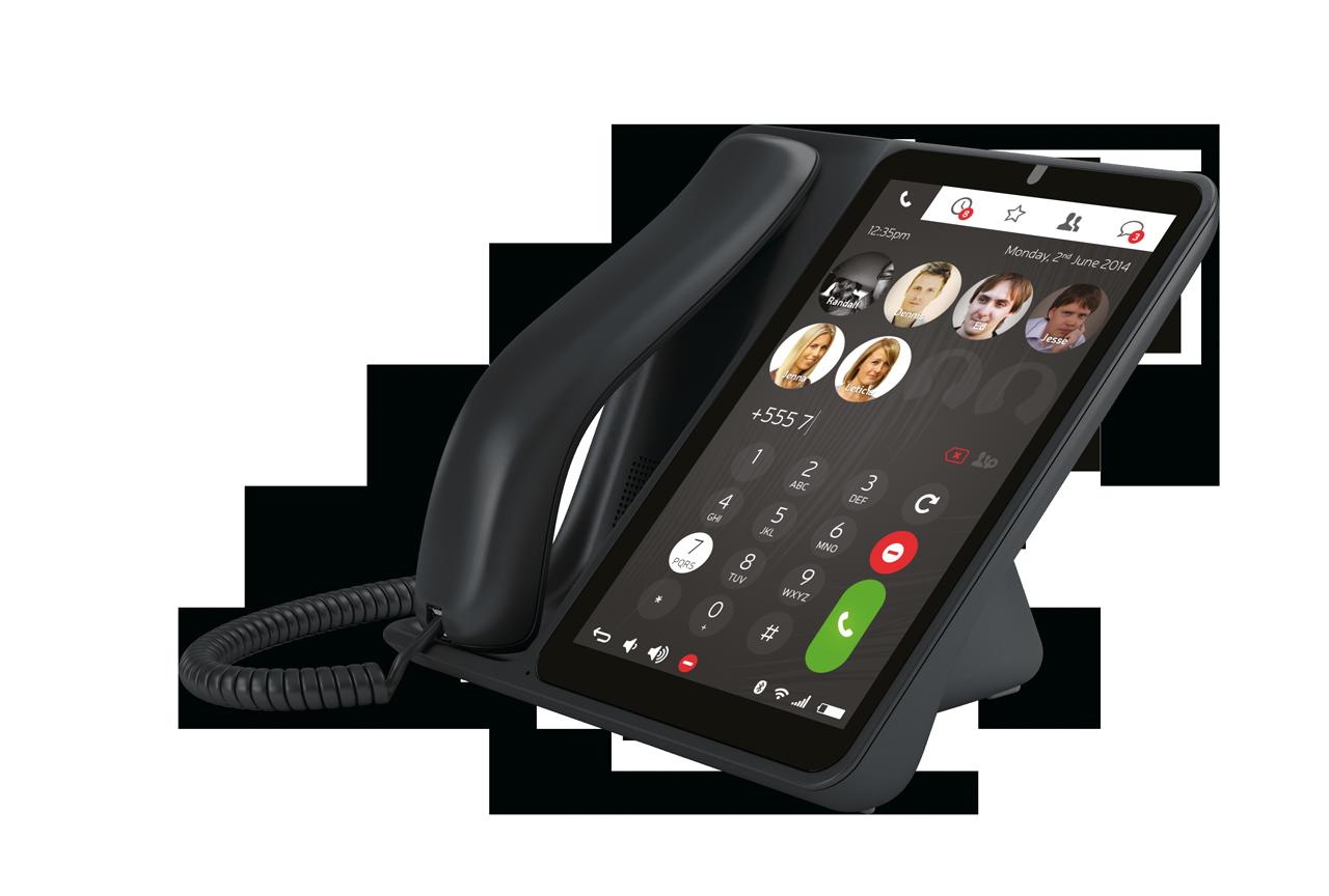 Telefon biurowy z adnroidem Jablocom Raven